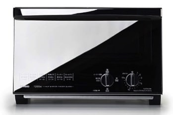 ミラーガラスオーブントースター  TS-4047W