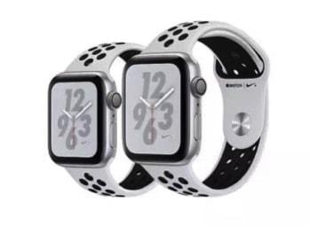 2018新型Apple Watch Nike+ Series 4 GPSモデル ホワイト 1861